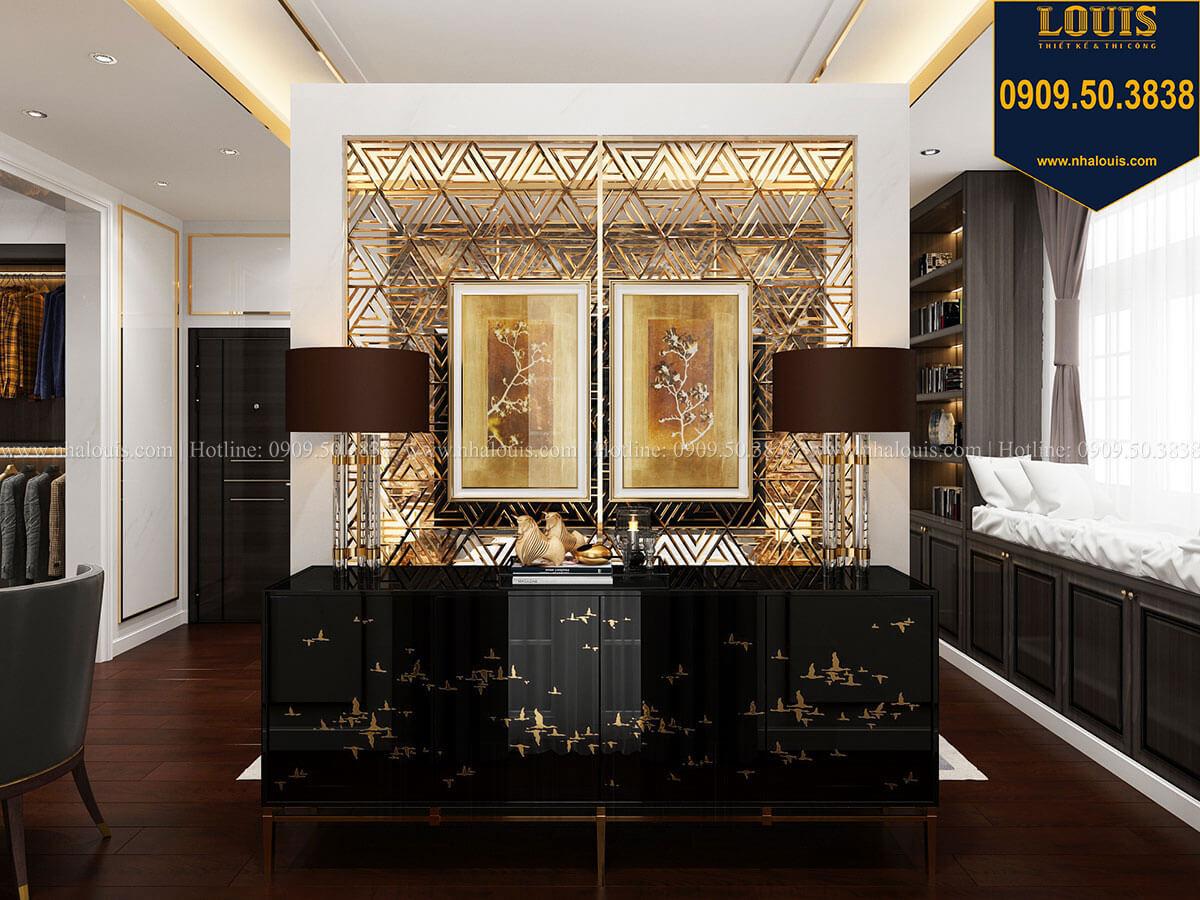 Phòng ngủ Mẫu biệt thự cổ điển 4 tầng phong cách vương giả tại Thủ Đức - 39