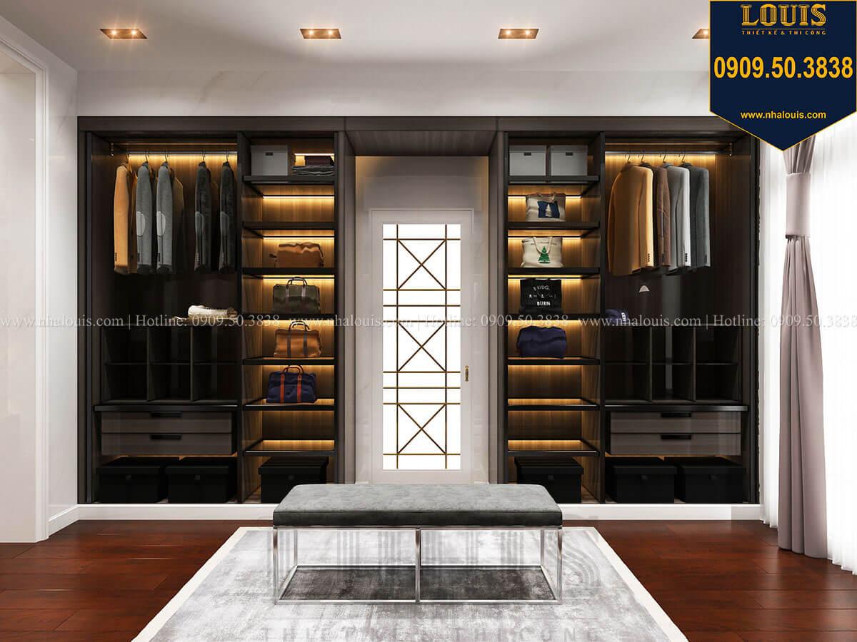 Phòng thay đồ Mẫu biệt thự cổ điển 4 tầng phong cách vương giả tại Thủ Đức - 41