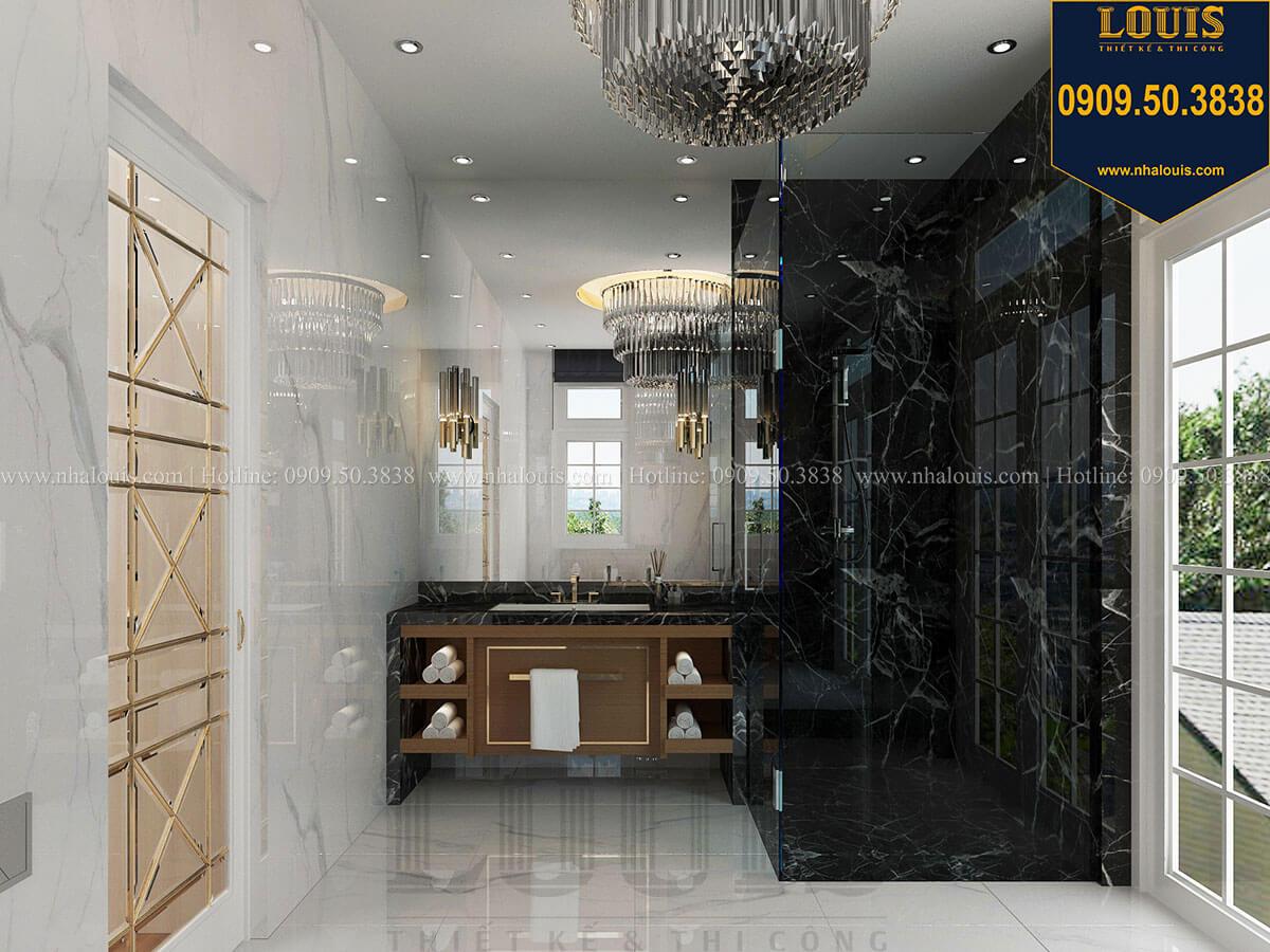 Phòng tắm và WC Mẫu biệt thự cổ điển 4 tầng phong cách vương giả tại Thủ Đức - 43