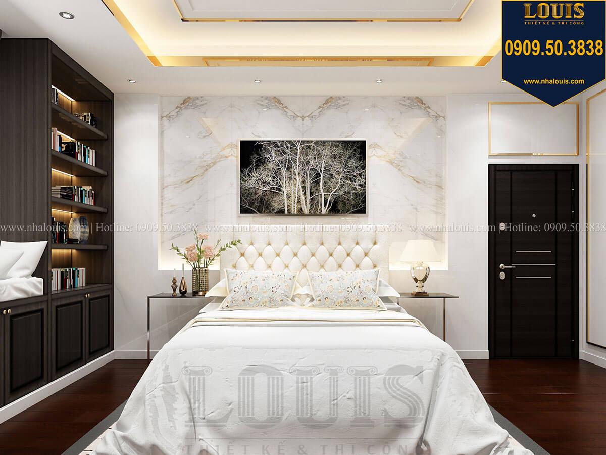 Phòng ngủ Mẫu biệt thự cổ điển 4 tầng phong cách vương giả tại Thủ Đức - 47
