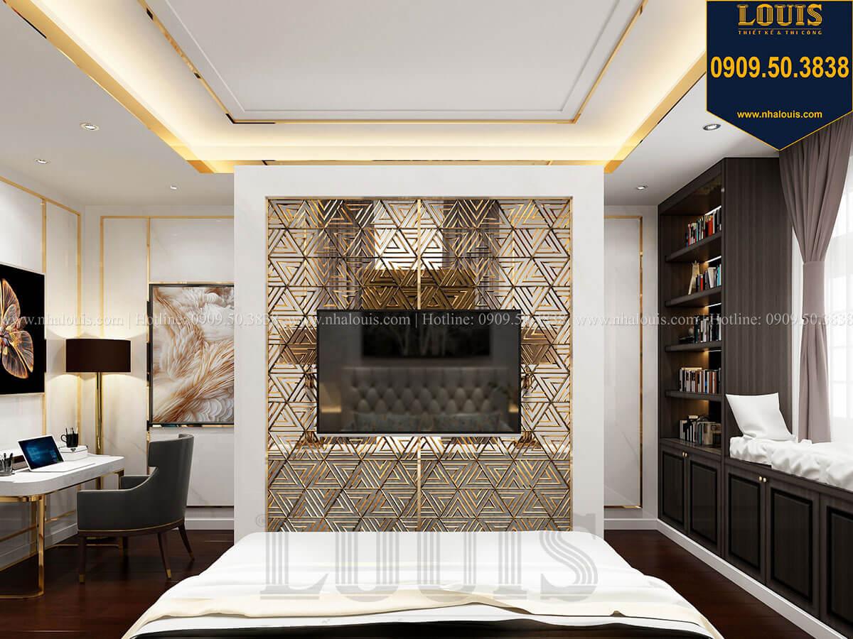 Phòng ngủ Mẫu biệt thự cổ điển 4 tầng phong cách vương giả tại Thủ Đức - 48