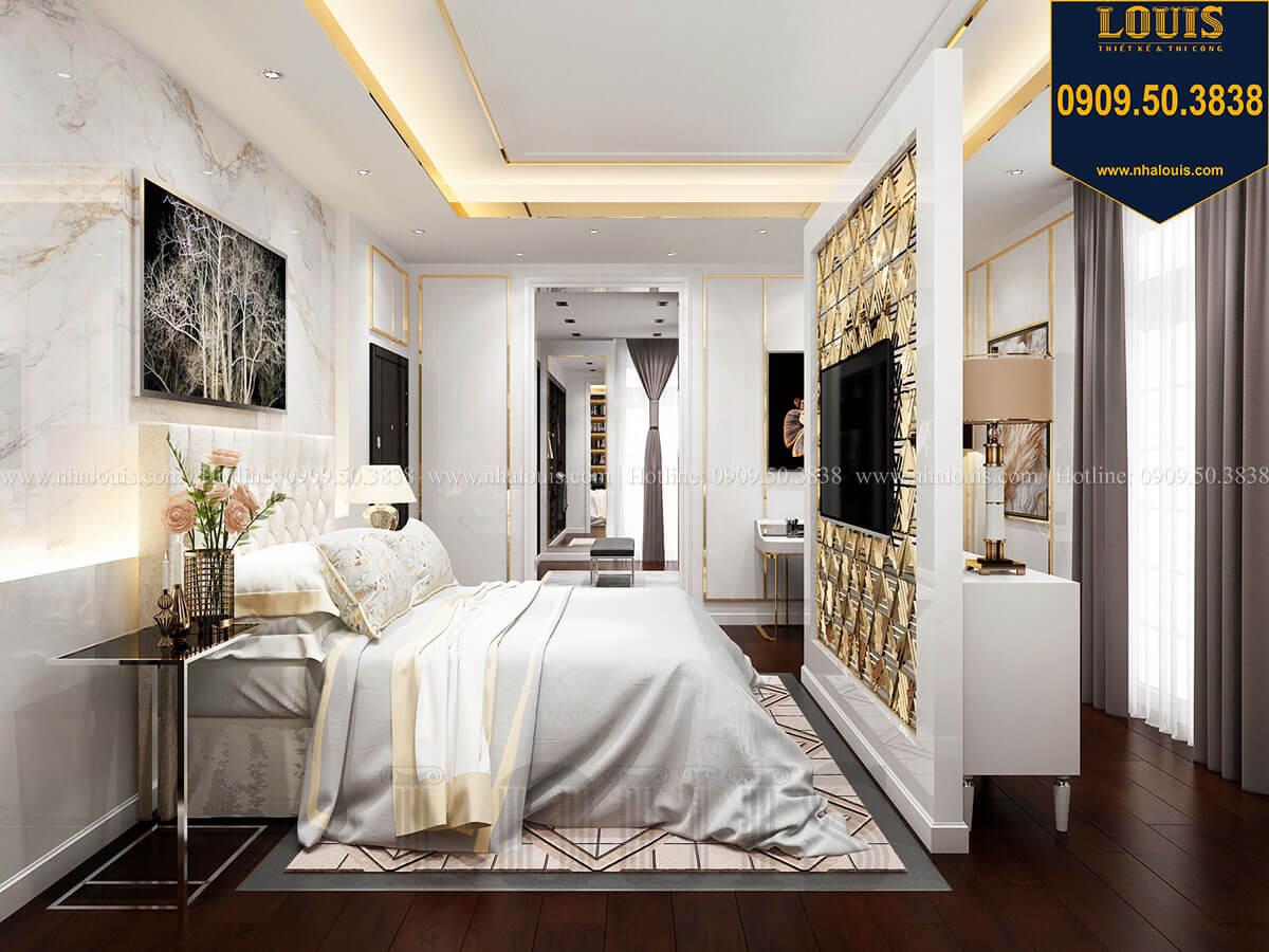 Phòng ngủ Mẫu biệt thự cổ điển 4 tầng phong cách vương giả tại Thủ Đức - 49