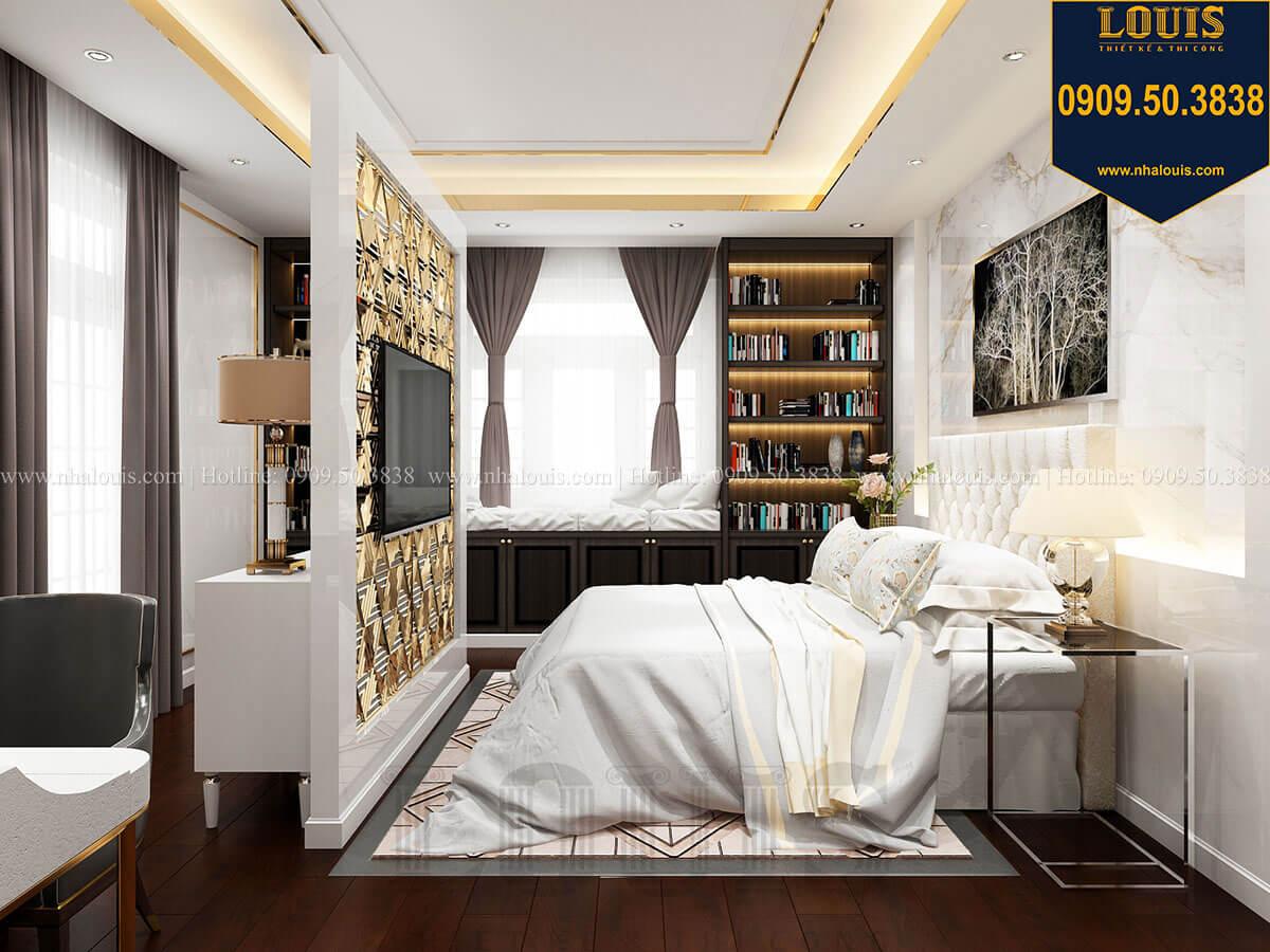 Phòng ngủ Mẫu biệt thự cổ điển 4 tầng phong cách vương giả tại Thủ Đức - 50