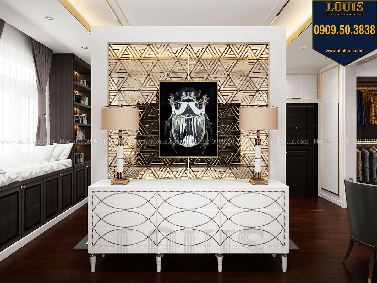 Phòng ngủ Mẫu biệt thự cổ điển 4 tầng phong cách vương giả tại Thủ Đức - 51