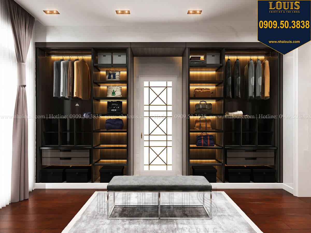 Phòng thay đồ Mẫu biệt thự cổ điển 4 tầng phong cách vương giả tại Thủ Đức - 53