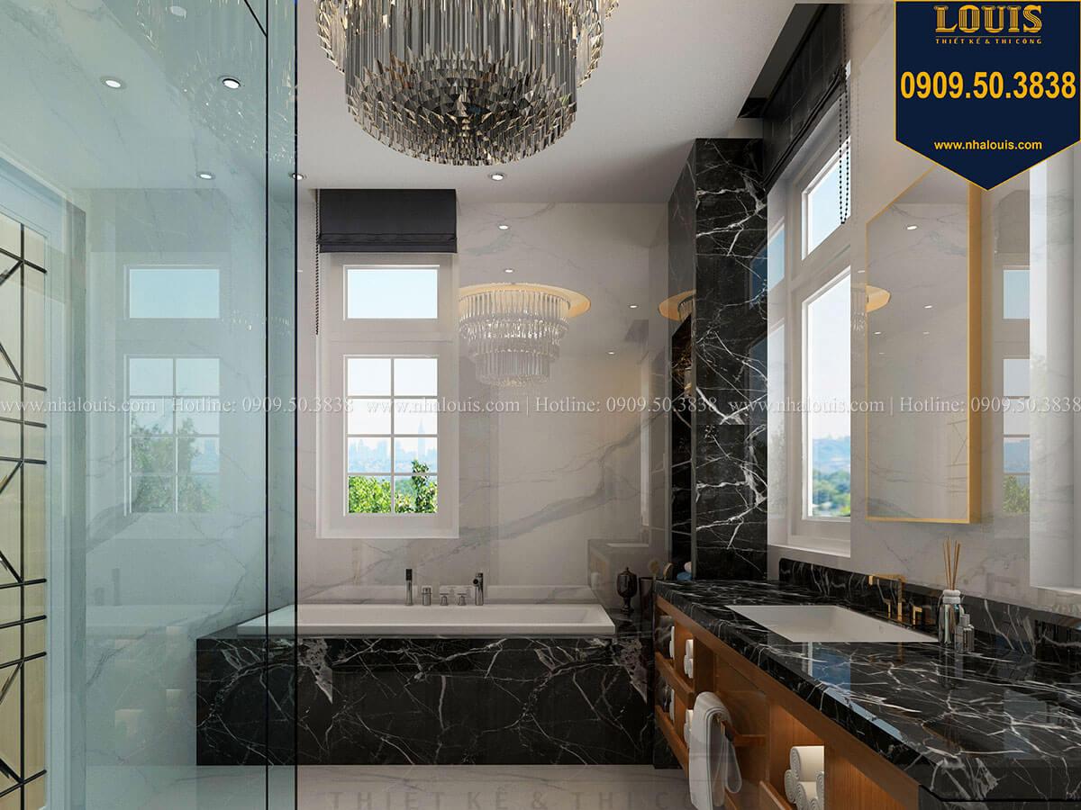 Phòng tắm và WC Mẫu biệt thự cổ điển 4 tầng phong cách vương giả tại Thủ Đức - 55