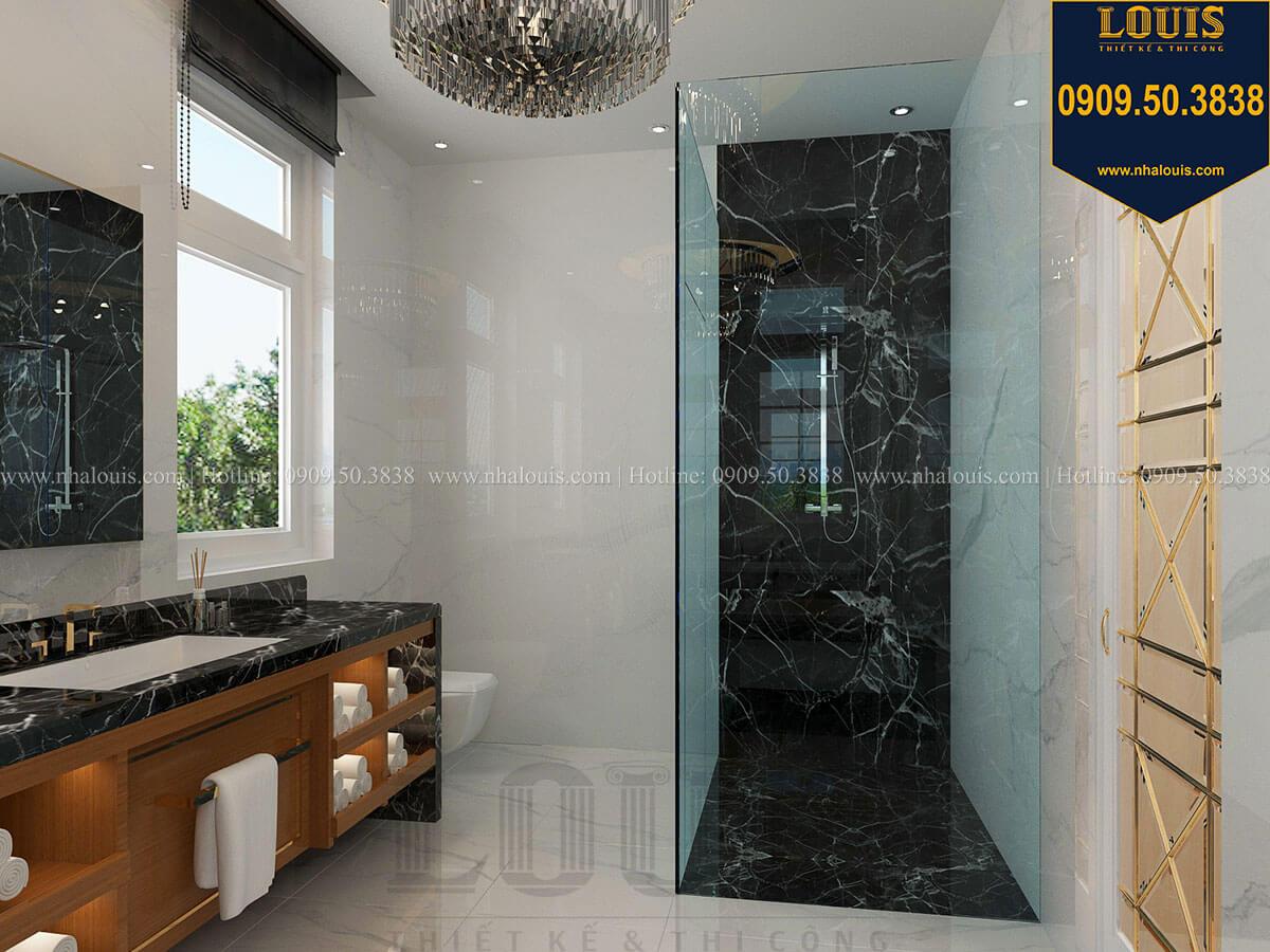 Phòng tắm và WC Mẫu biệt thự cổ điển 4 tầng phong cách vương giả tại Thủ Đức - 56