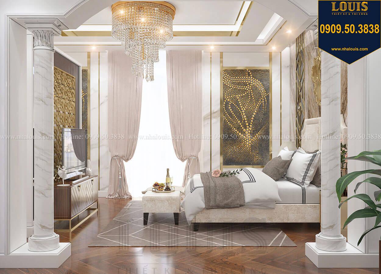 Phòng ngủ master Mẫu biệt thự cổ điển 4 tầng phong cách vương giả tại Thủ Đức - 57