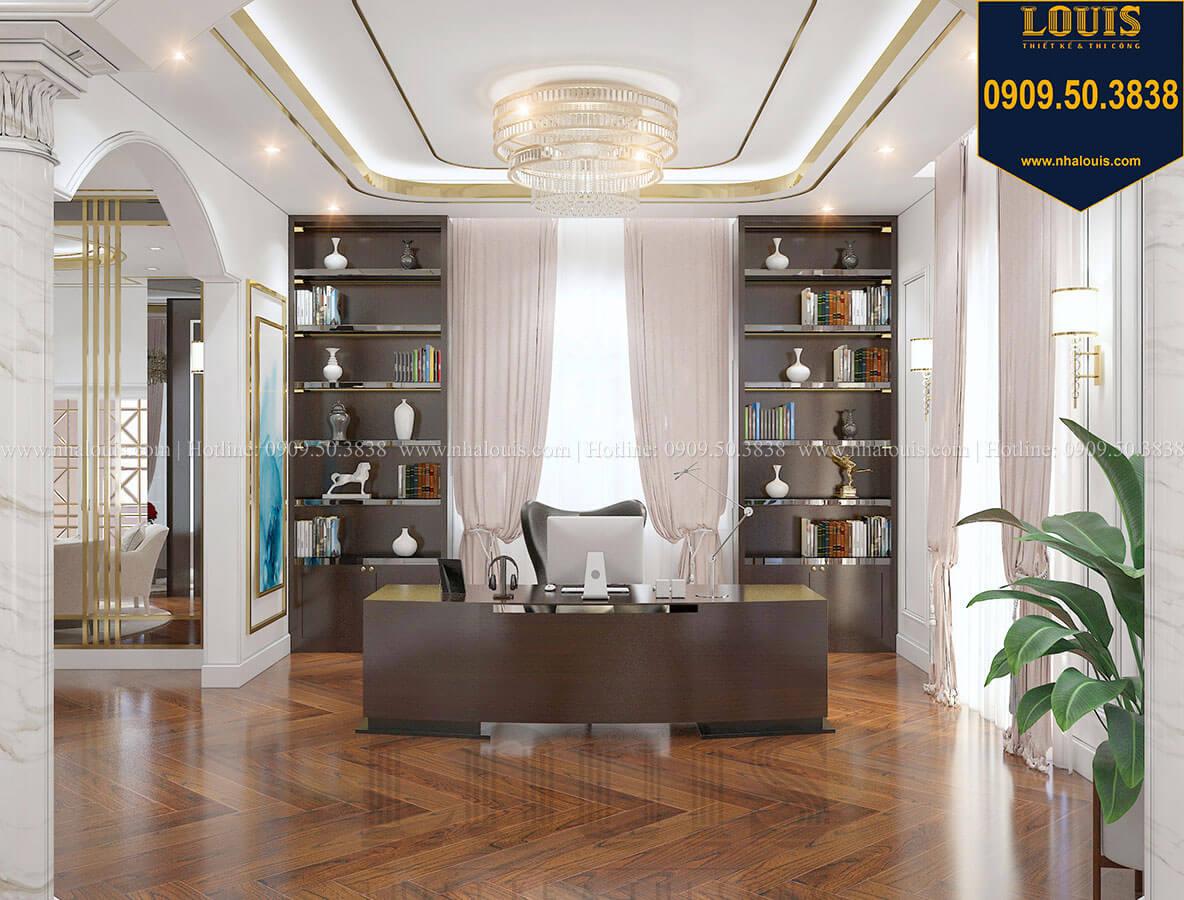Phòng ngủ master Mẫu biệt thự cổ điển 4 tầng phong cách vương giả tại Thủ Đức - 59