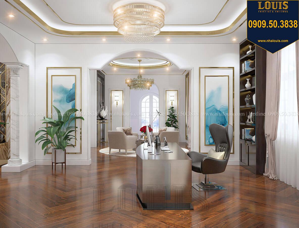 Phòng ngủ master Mẫu biệt thự cổ điển 4 tầng phong cách vương giả tại Thủ Đức - 60
