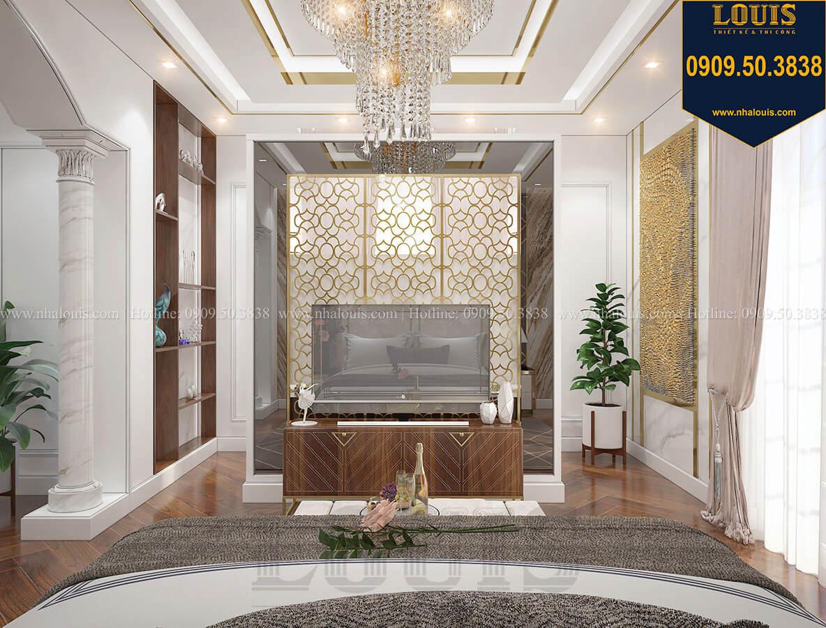 Phòng ngủ master Mẫu biệt thự cổ điển 4 tầng phong cách vương giả tại Thủ Đức - 61