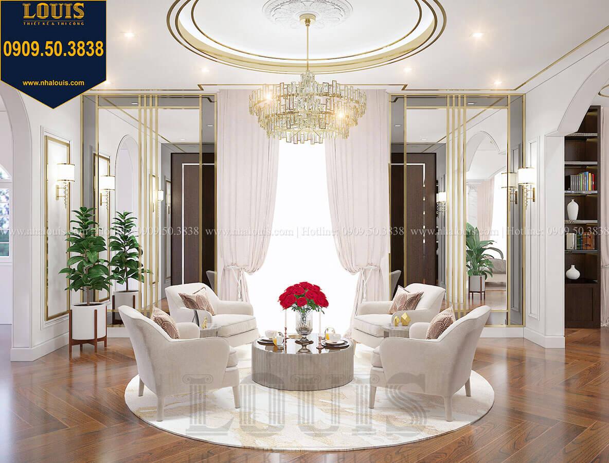 Phòng ngủ master Mẫu biệt thự cổ điển 4 tầng phong cách vương giả tại Thủ Đức - 64