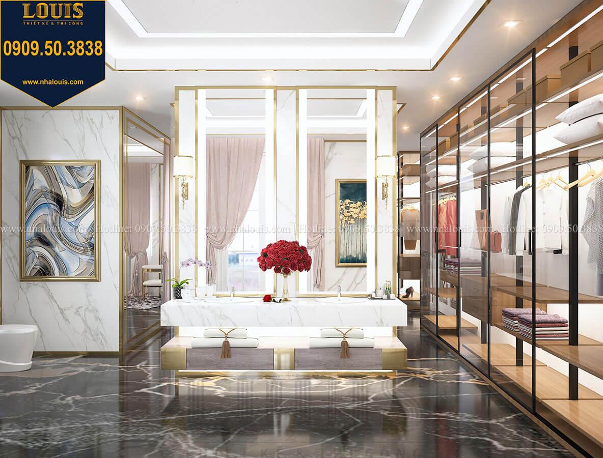 Phòng ngủ master Mẫu biệt thự cổ điển 4 tầng phong cách vương giả tại Thủ Đức - 66