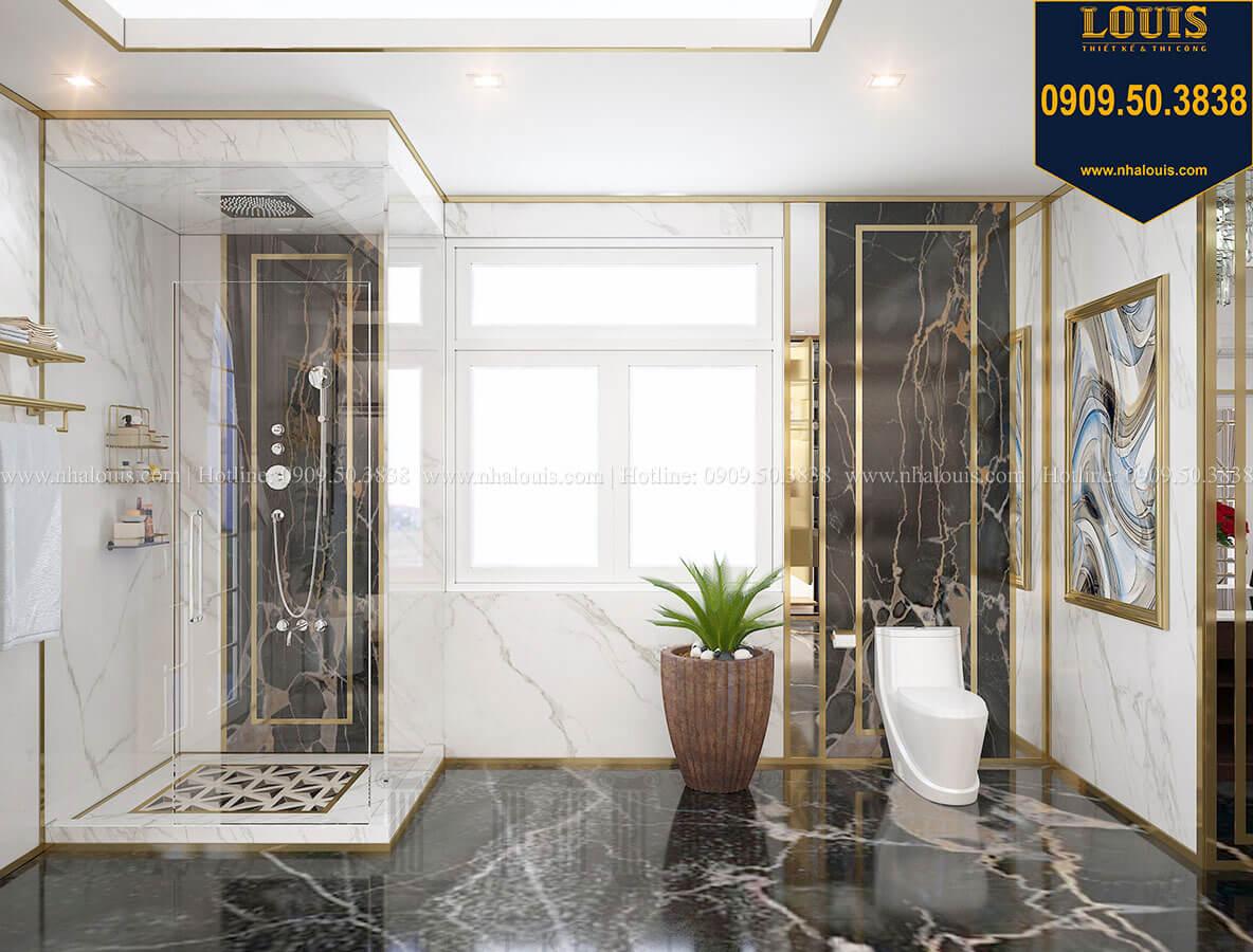 Phòng tắm và WC Mẫu biệt thự cổ điển 4 tầng phong cách vương giả tại Thủ Đức - 68