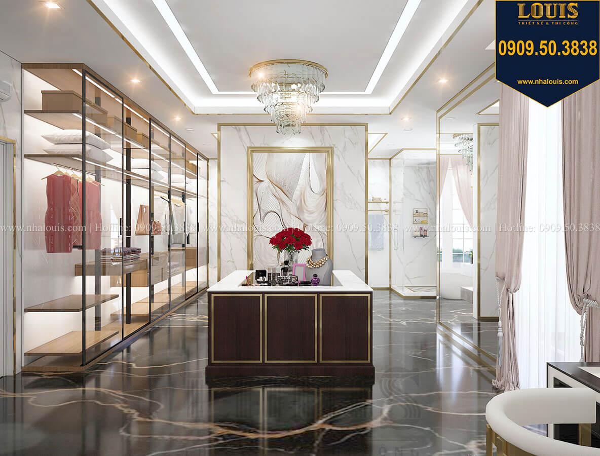 Phòng thay đồ Mẫu biệt thự cổ điển 4 tầng phong cách vương giả tại Thủ Đức - 70