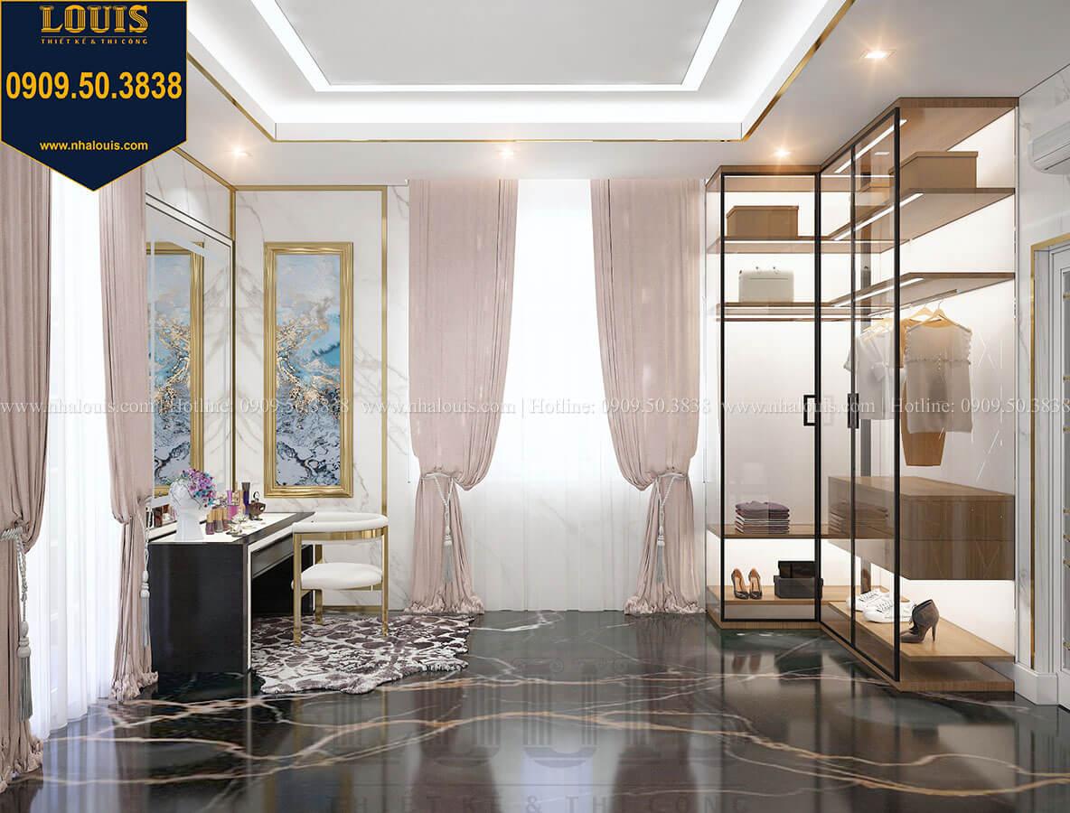 Phòng thay đồ Mẫu biệt thự cổ điển 4 tầng phong cách vương giả tại Thủ Đức - 71