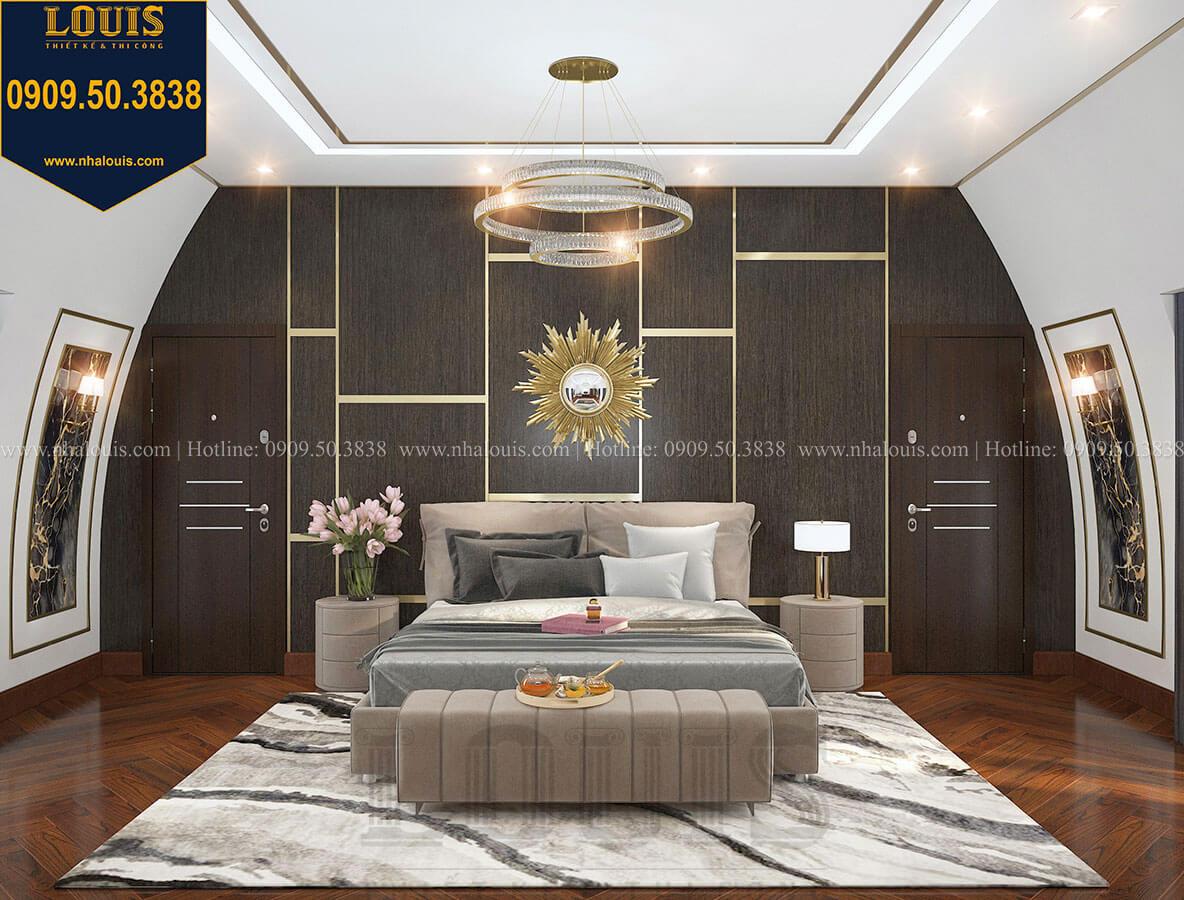 Phòng ngủ master Mẫu biệt thự cổ điển 4 tầng phong cách vương giả tại Thủ Đức - 73