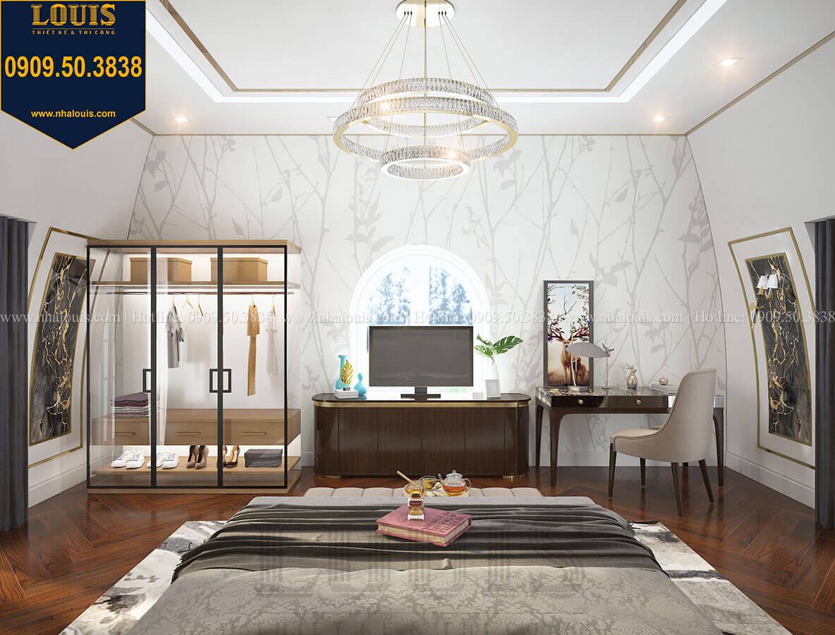 Phòng ngủ master Mẫu biệt thự cổ điển 4 tầng phong cách vương giả tại Thủ Đức - 74