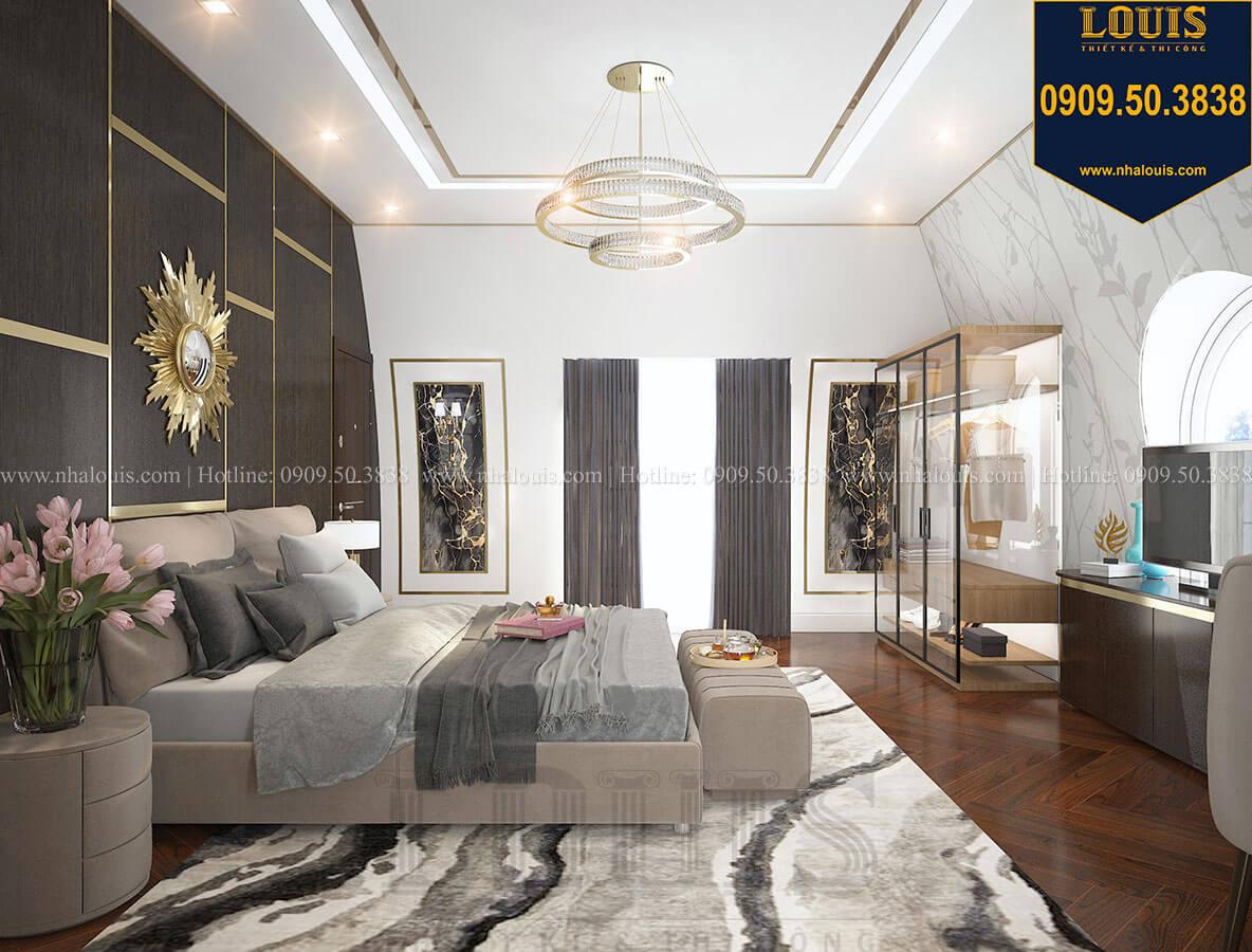 Phòng ngủ master Mẫu biệt thự cổ điển 4 tầng phong cách vương giả tại Thủ Đức - 75