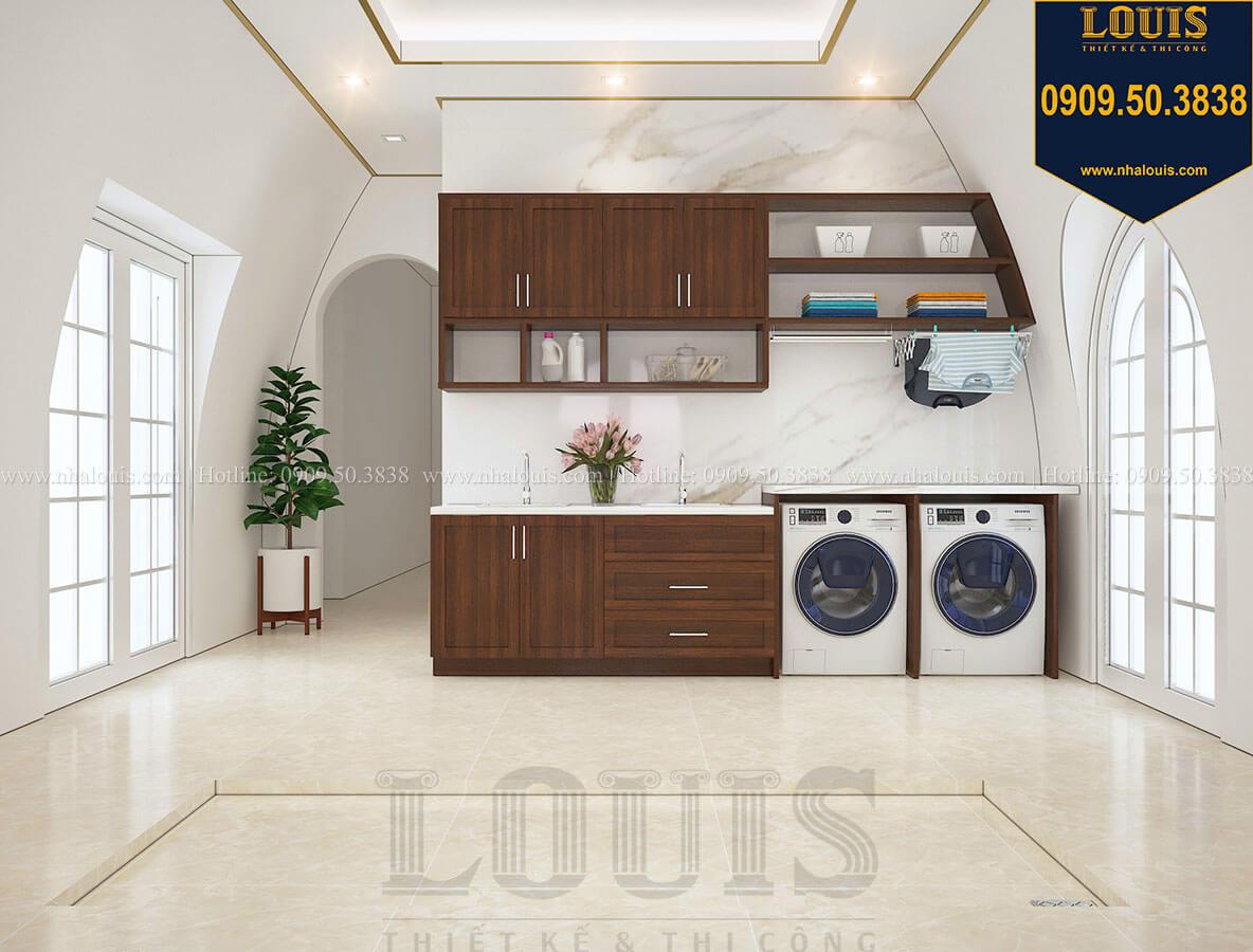 Phòng giặt ủi Mẫu biệt thự cổ điển 4 tầng phong cách vương giả tại Thủ Đức - 78