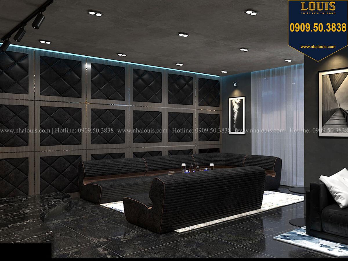Phòng giải trí Mẫu nhà phố 4 tầng 7x16m có tầng hầm tiện lợi tại Bình Chánh - 50