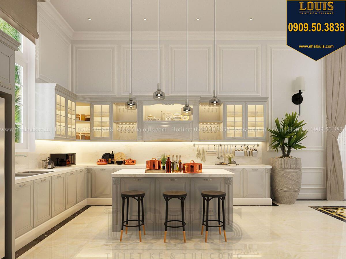 Phòng bếp Thiết kế kiến trúc biệt thự tân cổ điển siêu sang tại Quảng Ngãi - 34