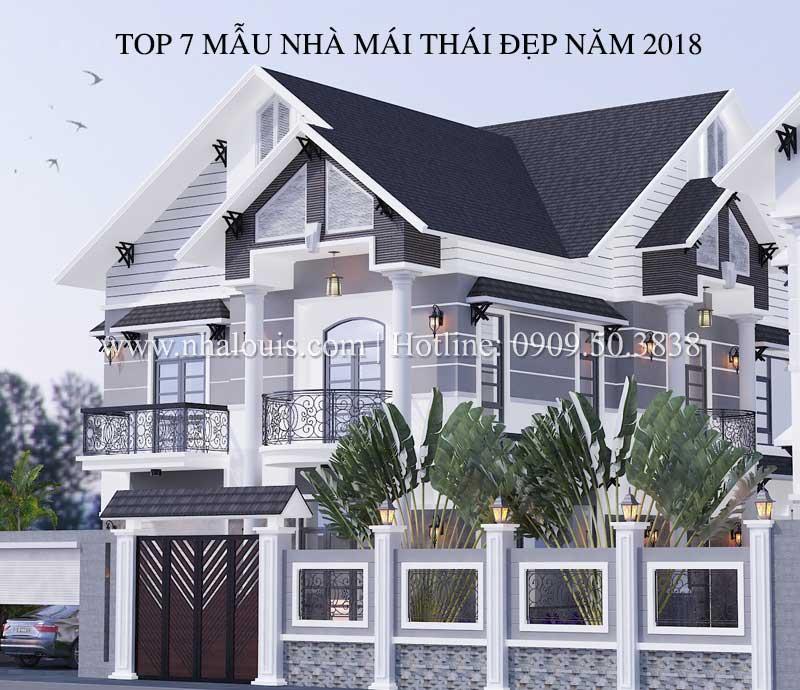 Top 7 Những mẫu nhà mái thái đẹp được ưa chuộng năm 2018