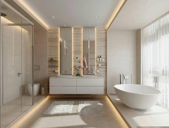 5 lưu ý vàng khi cải tạo phòng tắm biệt thự 2 tầng mái thái đẹp