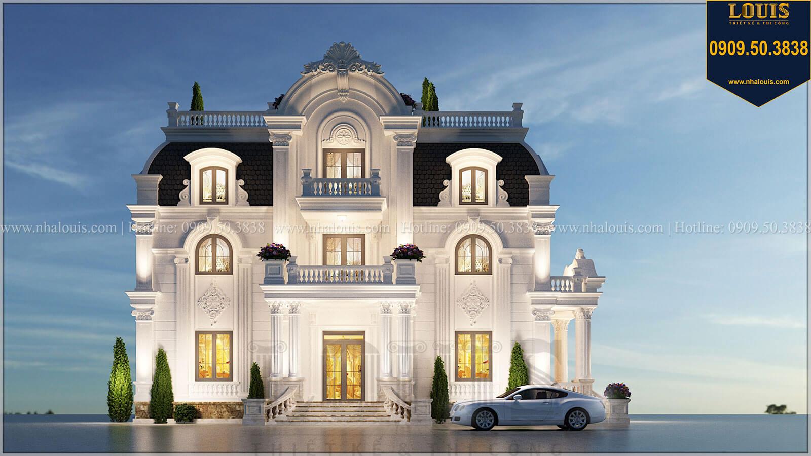 Biệt thự 4 tầng tân cổ điển đẹp lộng lẫy tại Nha Trang - 01