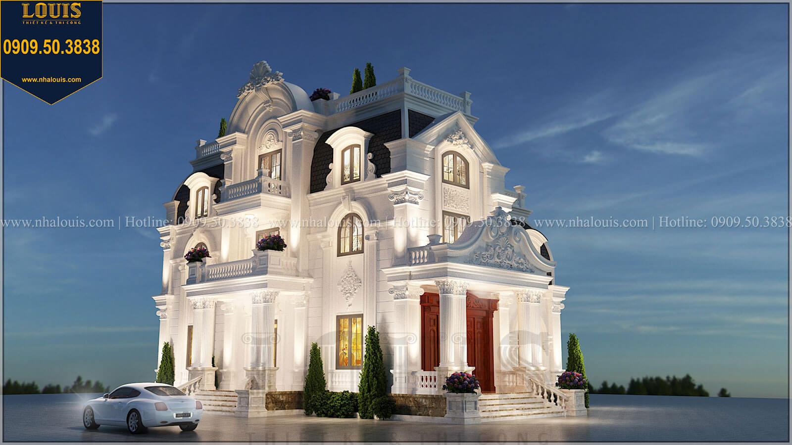 Biệt thự 4 tầng tân cổ điển đẹp lộng lẫy tại Nha Trang - 02