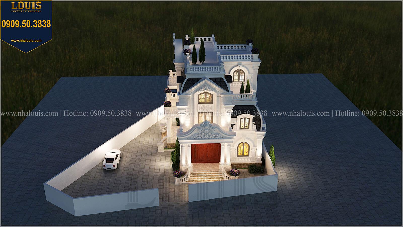 Biệt thự 4 tầng tân cổ điển đẹp lộng lẫy tại Nha Trang - 04