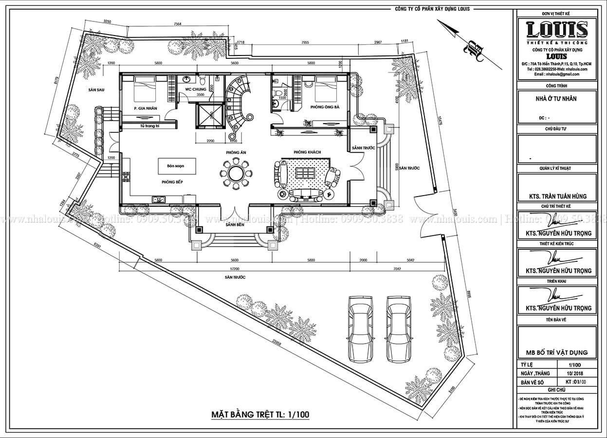 Biệt thự 4 tầng tân cổ điển đẹp lộng lẫy tại Nha Trang - 06