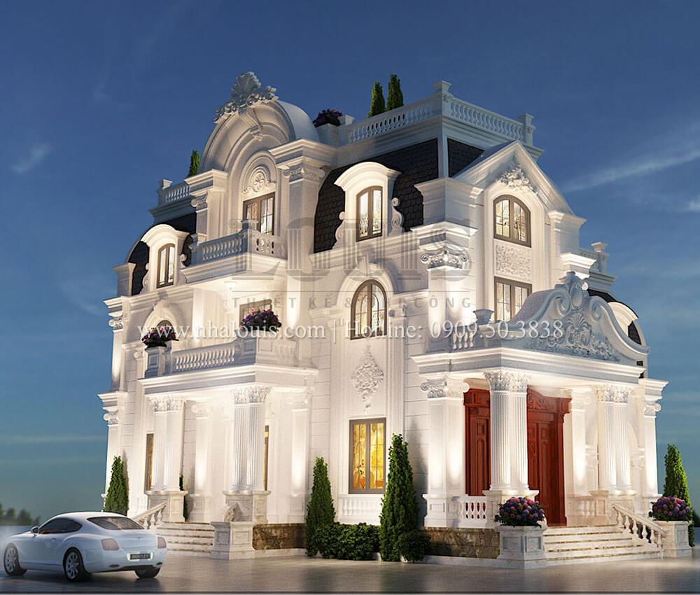 Biệt thự 4 tầng tân cổ điển đẹp lộng lẫy tại Nha Trang