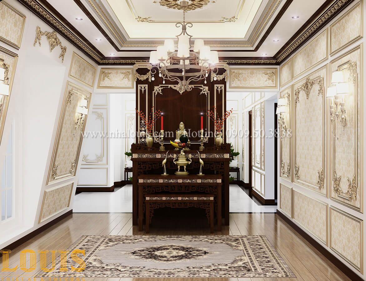 5 điều kiêng kỵ trong thiết kế tầng áp mái biệt thự cổ điển 4 tầng