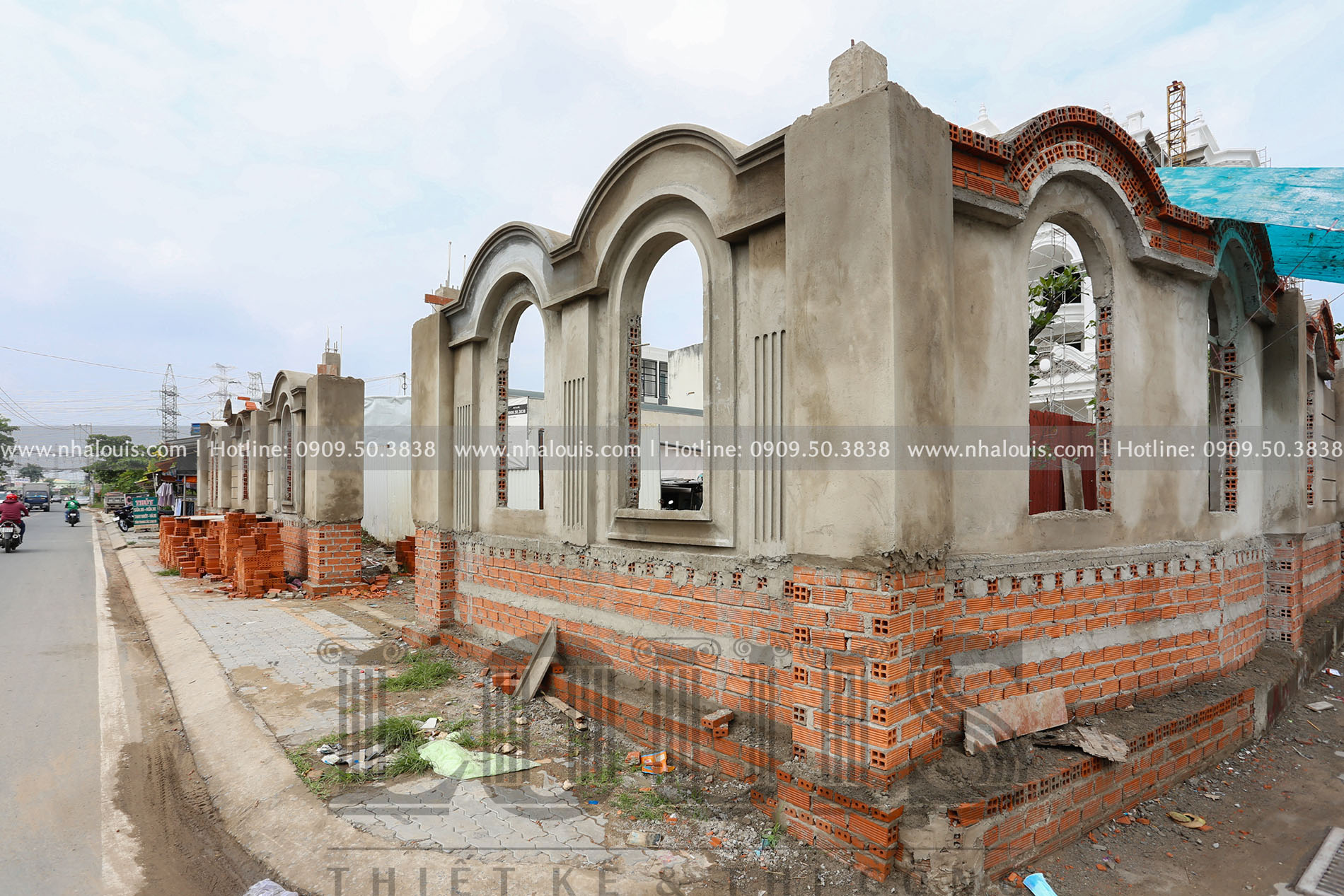 Biệt thự Châu Âu cổ điển chuẩn sang chảnh tại Nhà Bè