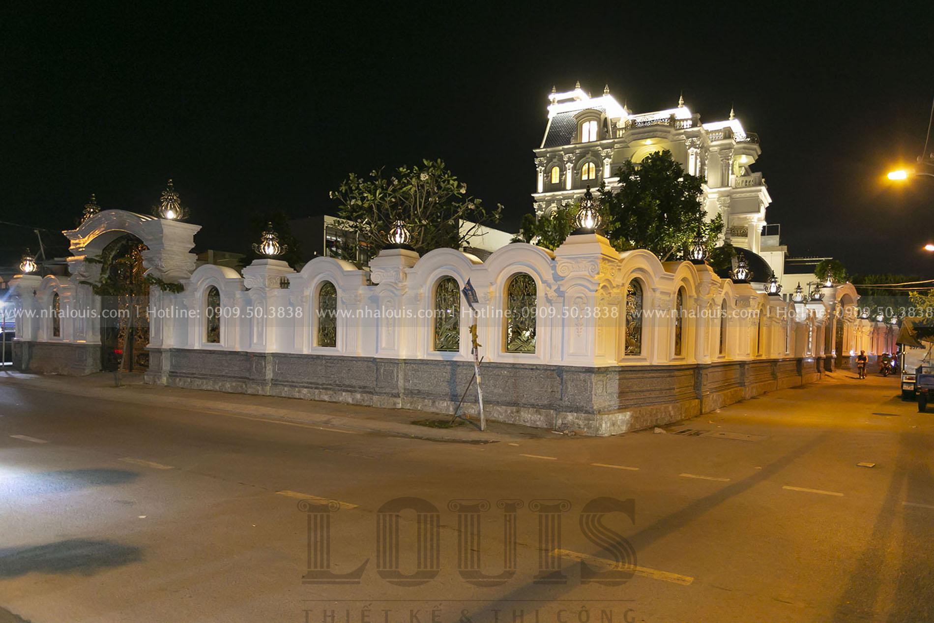 thiết kế kiến trúc biệt thự cổ điển Nhà Bè