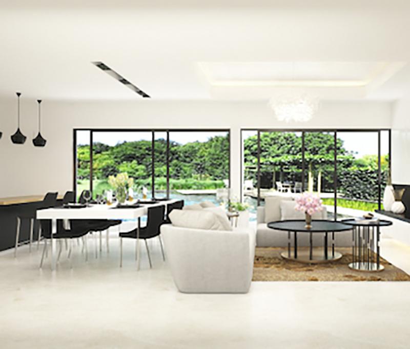 5 Lợi ích bất ngờ khi chọn sơn trắng cho biệt thự hiện đại 2 tầng