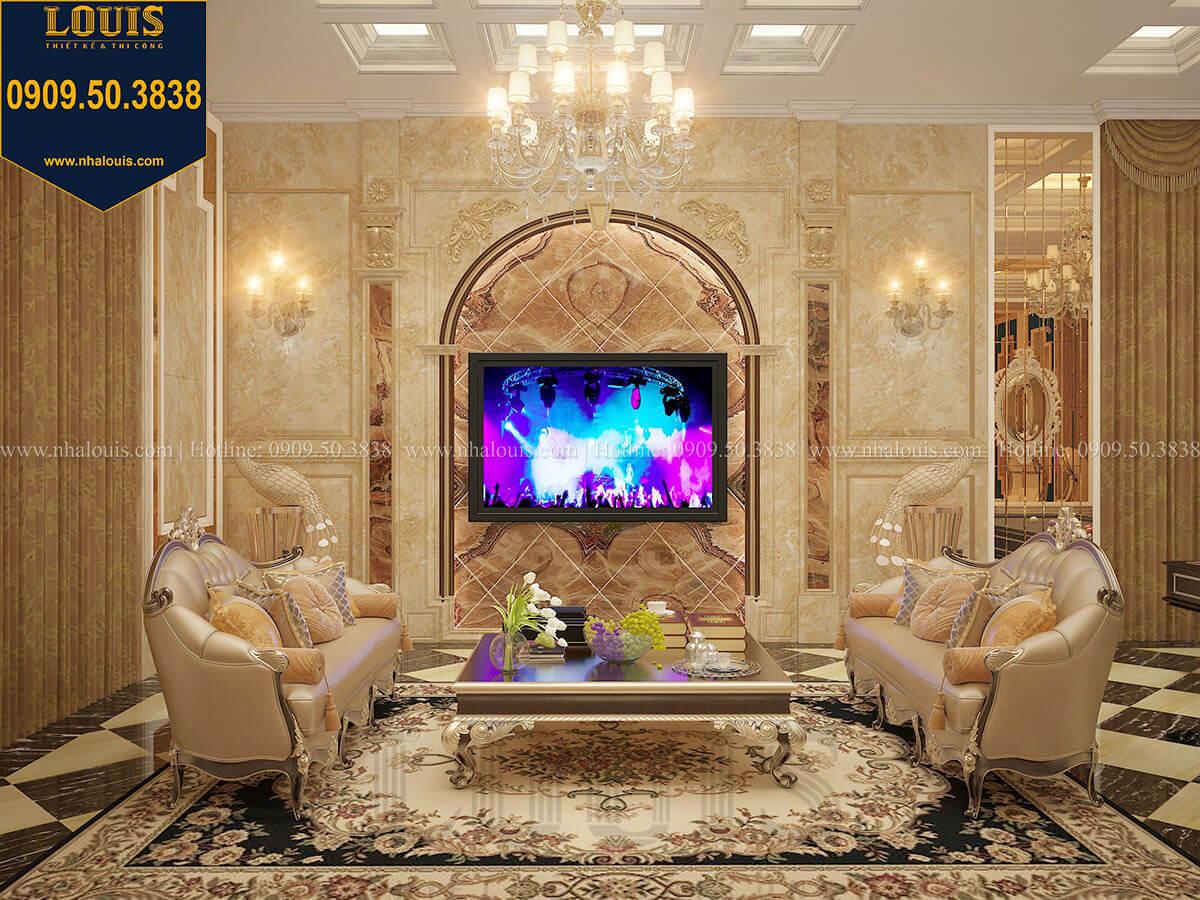 Phòng karaoke Biệt thự 1 trệt 1 lầu tân cổ điển đẹp trang nhã tại Tiền Giang - 24