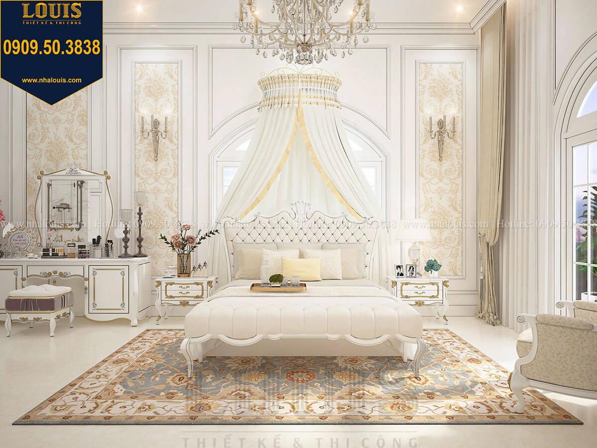 Phòng ngủ master Biệt thự 1 trệt 1 lầu tân cổ điển đẹp trang nhã tại Tiền Giang - 27