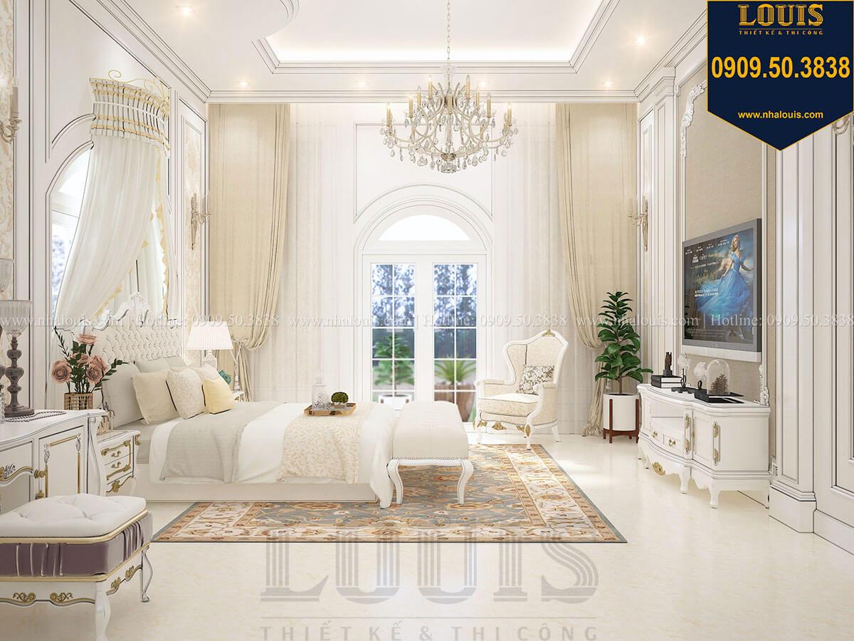 Phòng ngủ master chọn trắng tinh khôi làm tone màu chủ đạo - 28