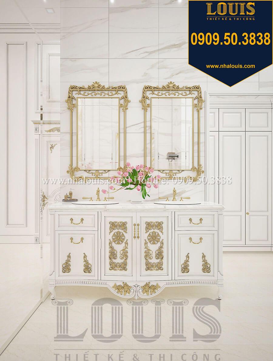 Phòng ngủ master với tủ lavabo cổ điển đẳng cấp và sang trọng - 30