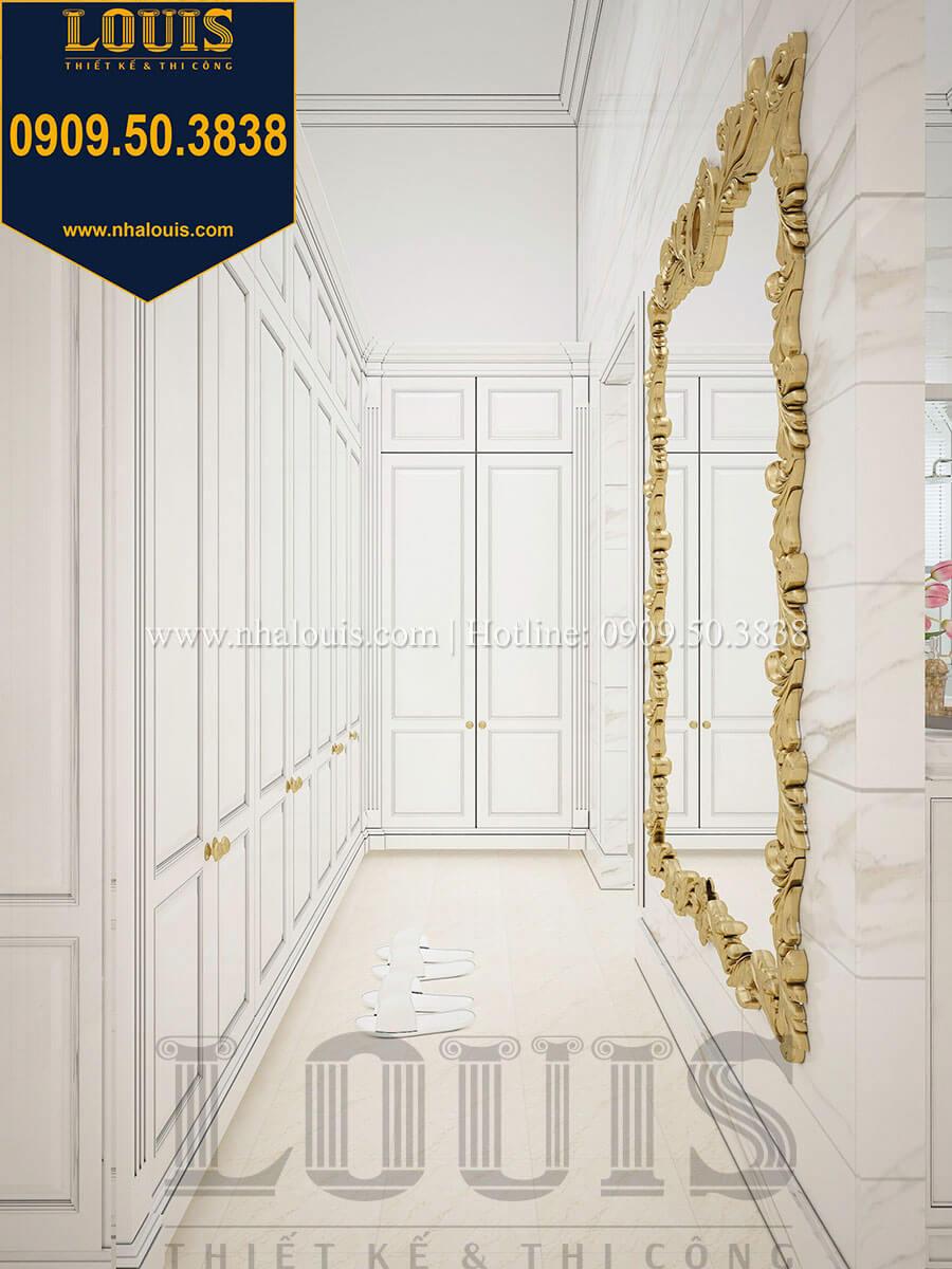 Phòng ngủ master với tủ quần áo âm tường tối ưu hóa diện tích - 31