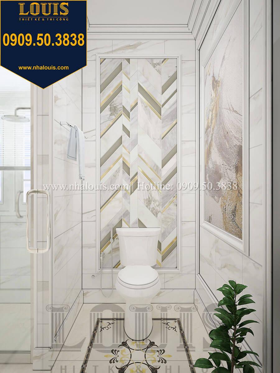 Phòng ngủ master Biệt thự 1 trệt 1 lầu tân cổ điển đẹp trang nhã tại Tiền Giang - 34