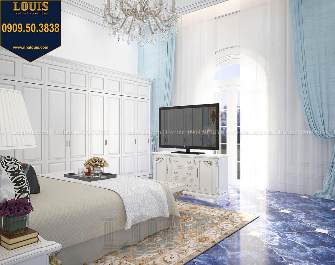 Phòng ngủ con trai Biệt thự 1 trệt 1 lầu tân cổ điển đẹp trang nhã tại Tiền Giang - 37