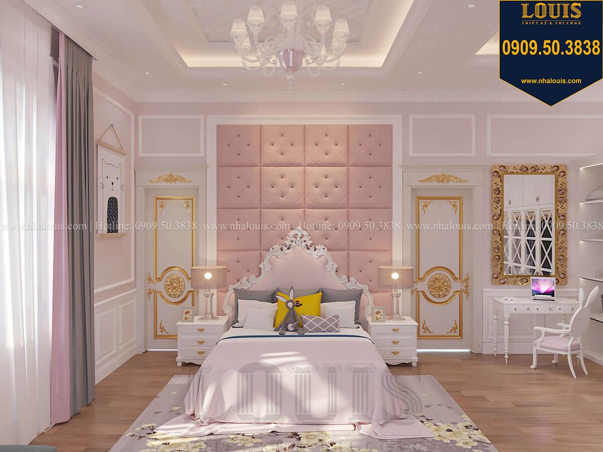 Phòng ngủ con gái Biệt thự 1 trệt 1 lầu tân cổ điển đẹp trang nhã tại Tiền Giang - 40