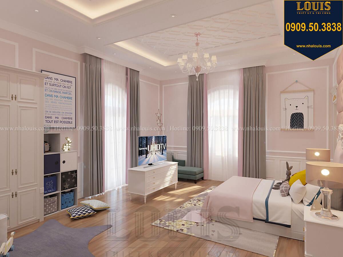 Phòng ngủ con gái Biệt thự 1 trệt 1 lầu tân cổ điển đẹp trang nhã tại Tiền Giang - 42