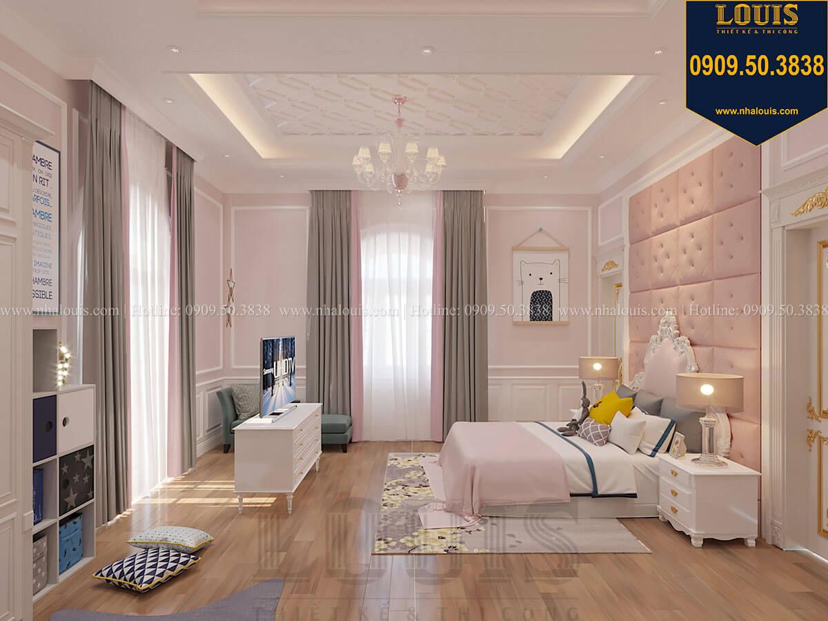 Phòng ngủ con gái Biệt thự 1 trệt 1 lầu tân cổ điển đẹp trang nhã tại Tiền Giang - 43