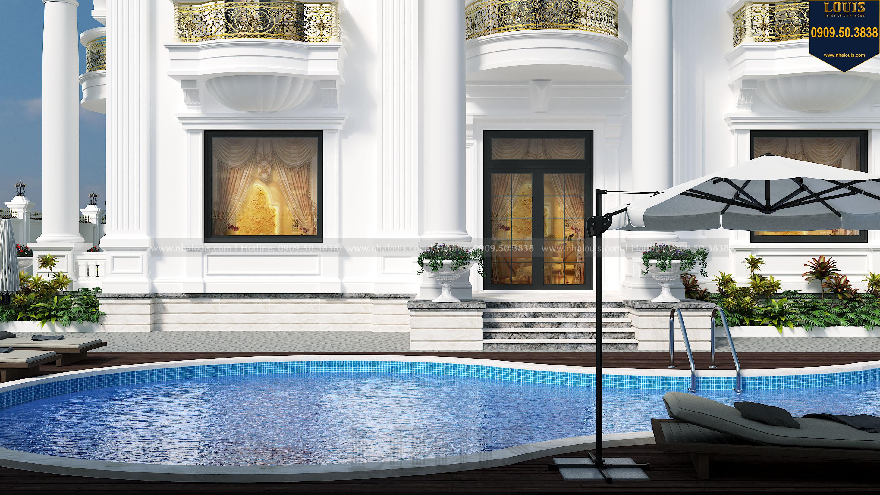 thiết kế hồ bơi biệt thự
