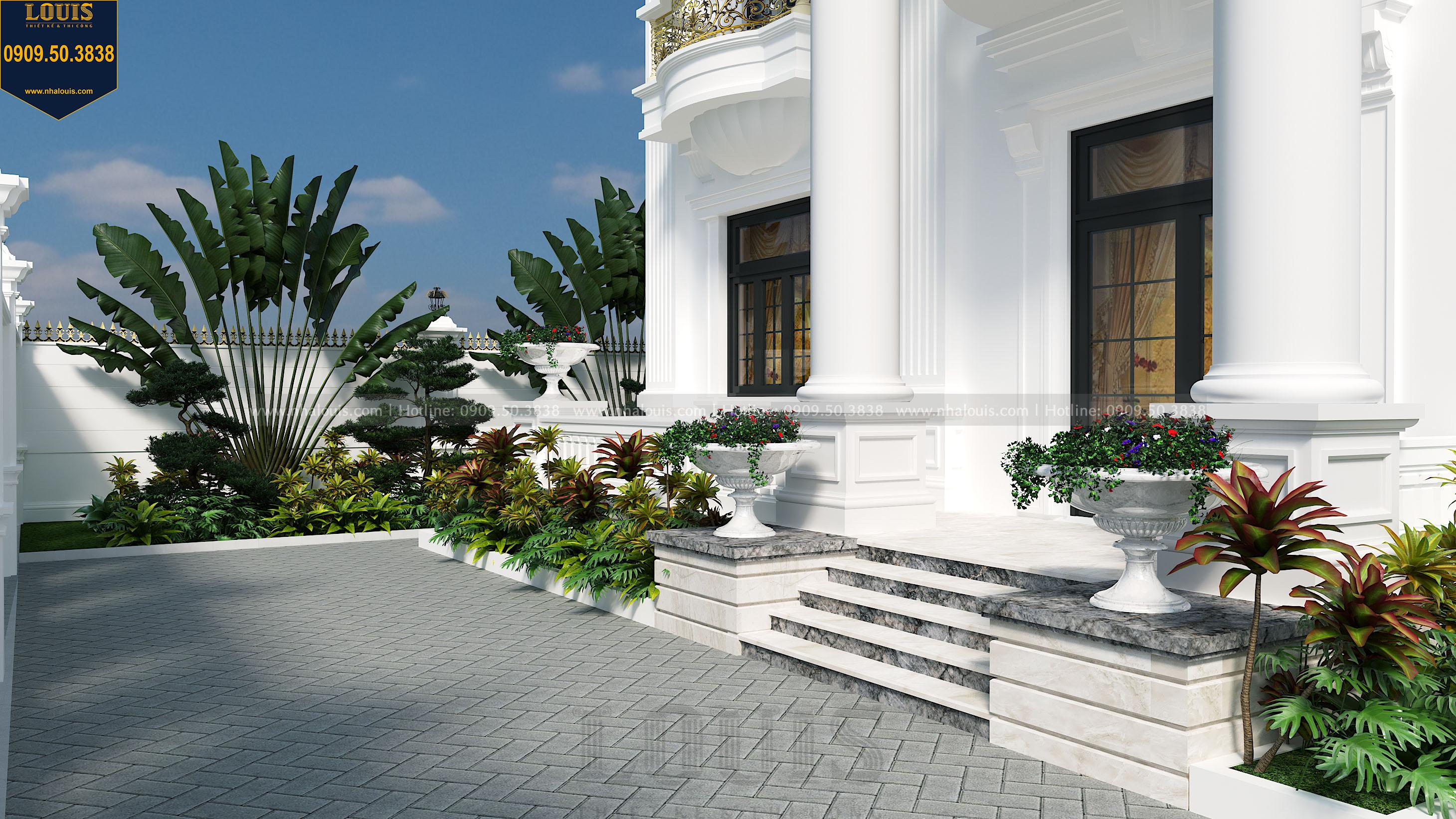 thiết kế vườn nhà biệt thự