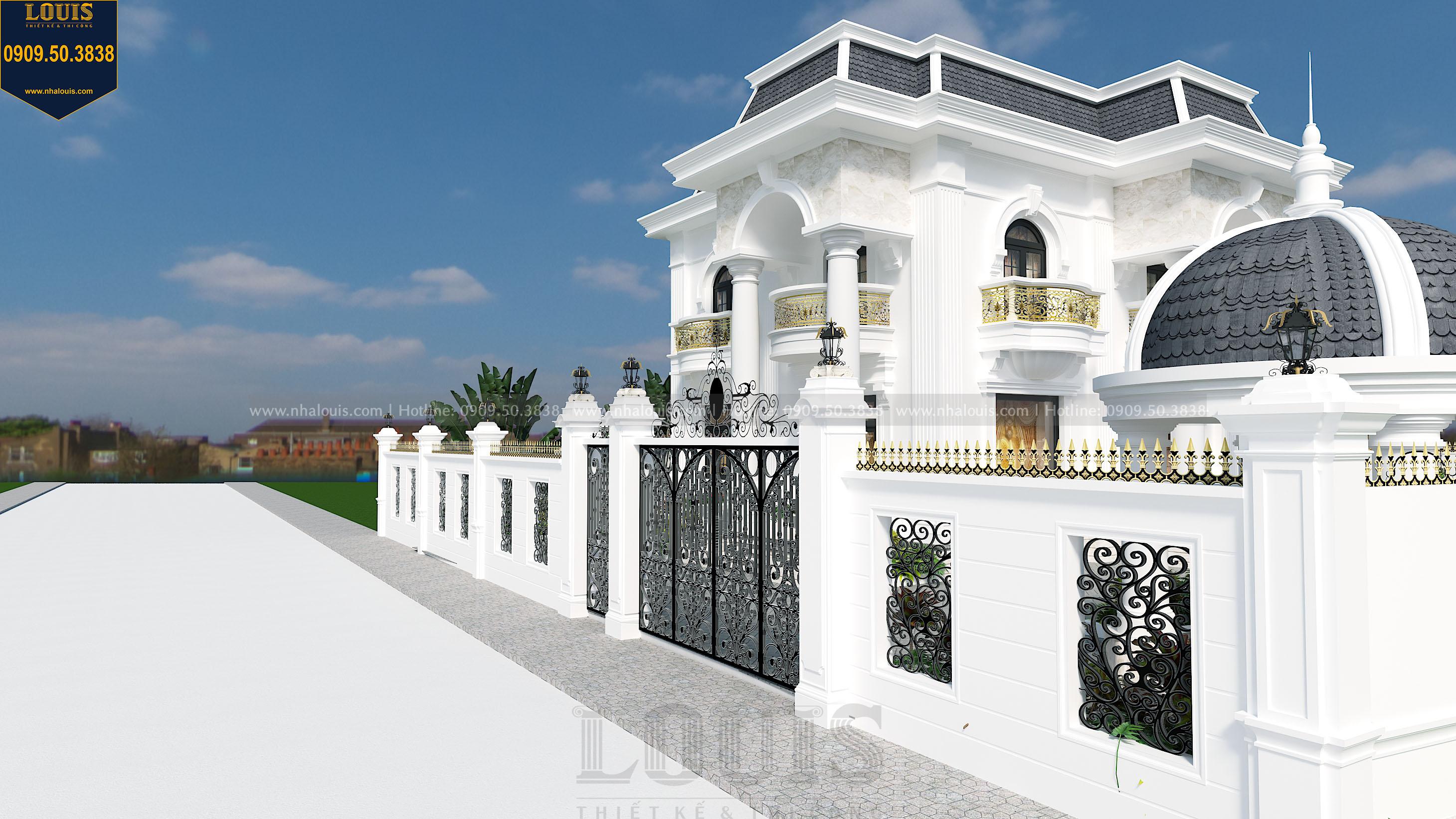 Thiết kế cổng rào biệt thự